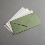 Colorplan Enveloppes DIN long rabat à pointe