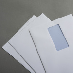 Jupp Hüllen weiß recycling DIN C5