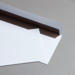 Buste da lettera alta qualità DIN Lang con fodera colorata