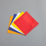 Transparent Farbig Hüllen 125 x 125 mm