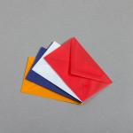 Transparent Farbig Visitenkartenhüllen