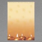 4 candele rotonde A4