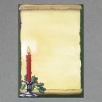 Kerze Pergamentrolle A4
