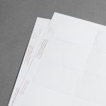 Promaxx Visitenkarten Weiß