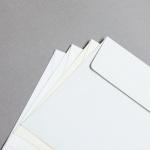 Enveloppes Revolution vergées 160 x 160 mm