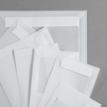 Transparent Premium Hüllen haftklebend