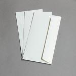 C-Cards buste DIN lungo scintillio metallico