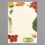 Gemüse und Salat A4