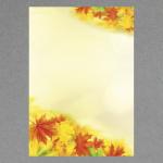 Herbstlaub A4