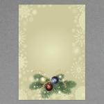 Composition florale festive A4