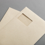 Graspapier Hüllen DIN C4 haftklebend