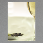 Asparagus and wine A4