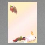 Dessert with ice cream A4