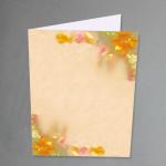 Orchideen Karten A5 hochdoppelt