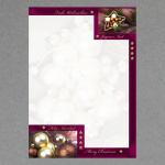 Weihnachtskugeln 2 A4