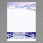 Winterlandschaft A4