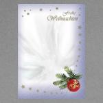 Boule de Noël avec ruban A4