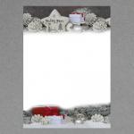 Silber-weiße Weihnacht