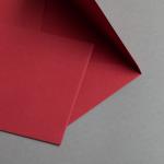 Enveloppes de couleur DIN B6 Rouge carmin