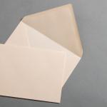 Enveloppes de couleur DIN B6 Vanilla