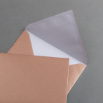 Copper envelopes DIN B6 25 units