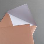 Buste da lettera rame DIN B6 - 125 x 176 mm