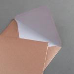 Briefumschläge Kupfer DIN C6 25 Stück