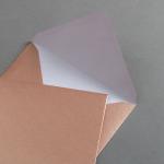 Enveloppe cuivre DIN C6