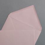 Enveloppes vieux rosé DIN B6