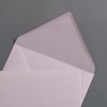 Briefumschläge DIN B6 Blush - Hellrosa 125x176 mm