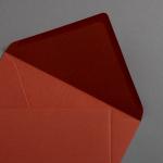 Briefumschläge DIN B6 Blush - Rost 125x176mm