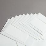 Echt Bütten (carta a mano) Buste Bianco