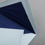 Büttenumschläge French Blue Diplomat (118 x 182 mm)