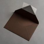 Colorplan Enveloppes DIN B6 Brun mocha
