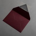 Colorplan Buste DIN B6 Rosso vino
