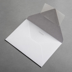 Colorplan envelopes DIN B6 Light grey
