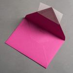 Colorplan Hüllen DIN B6 spitze Klappe Pink