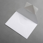 Colorplan Enveloppes DIN B6 Blanc lumineux