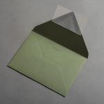Colorplan Buste DIN B6 Verde oliva