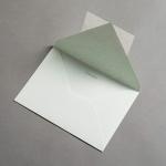 Colorplan envelopes DIN B6 pointed flap Linden green