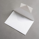 Colorplan envelopes DIN B6 pointed flap White