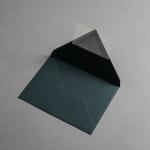 Colorplan envelopes DIN B6 pointed flap Dark Green