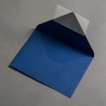 Colorplan Hüllen DIN B6 spitze Klappe Blau