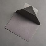 Colorplan Enveloppes DIN B6 Gris pierre
