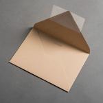 Colorplan Enveloppes DIN B6 Noix