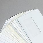 Enveloppes Conqueror vergées DIN long