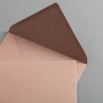 Enveloppes Crush DIN B6 Amande