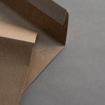 Kraftpapier Muskat Briefumschläge 160 x 160 mm