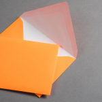 Ultra Neon Enveloppes DIN C6 - Néon Orange