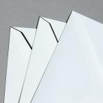 Trauerenvelopes schwarz gerändert